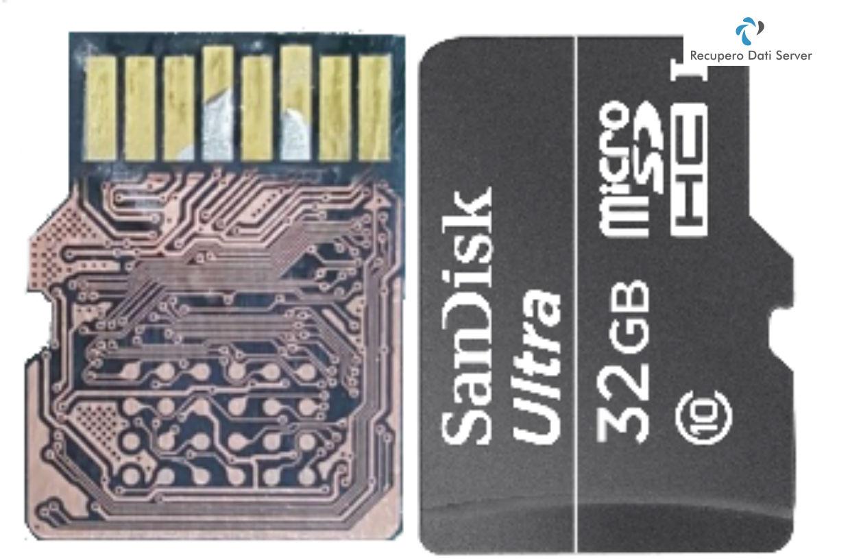 Recupero Dati Memory Card MicroSD Lappata