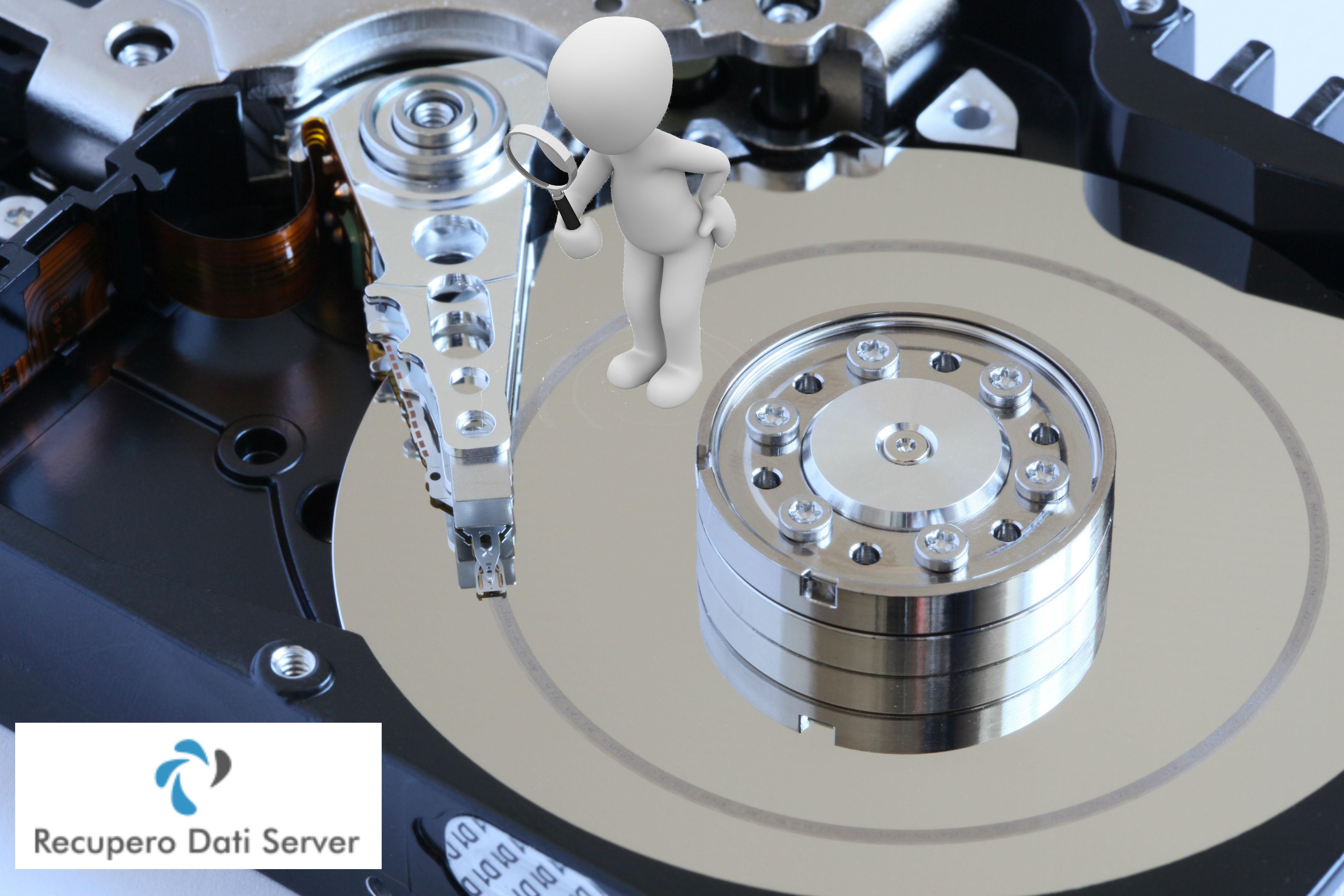 Recupero Dati Hard Disk Head Crash